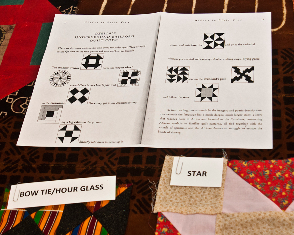 If These Quilts Could Talk Signals Along The Underground Railroad