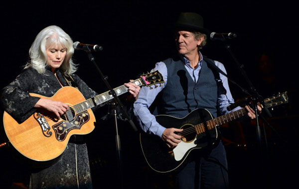 Rodney crowells long and winding road back to emmylou culture emmylou harris and somewhat shadowy rodney crowell on the current old yellow moon tour courtesy bigandbubba stopboris Image collections