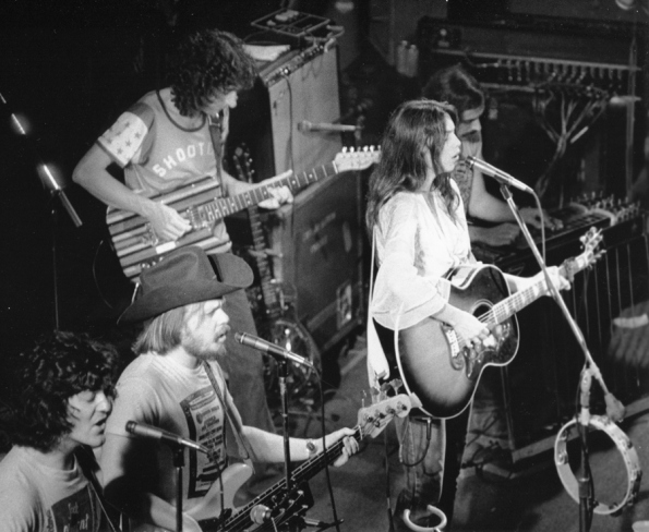 Rodney crowells long and winding road back to emmylou no depression rodney crowell far left ca mid 70s performing with emmylou harris in the hot band courtesy bobkinney stopboris Image collections