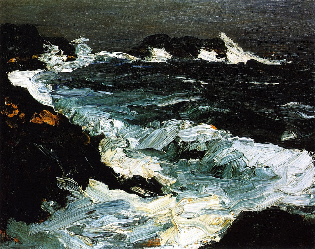 robert-henri-rough-sea-near-lobster-point-1903