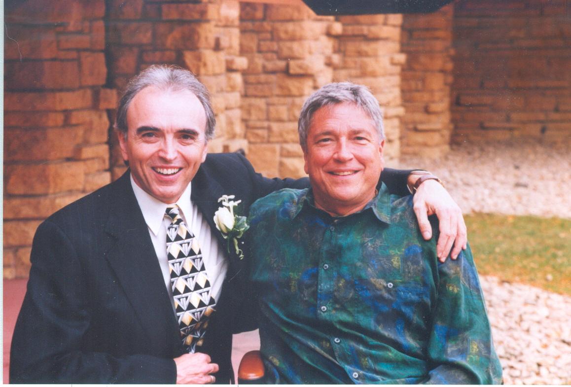 Kev and Jim wedding