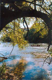 MKE river w canoe