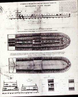 slave ship stowage