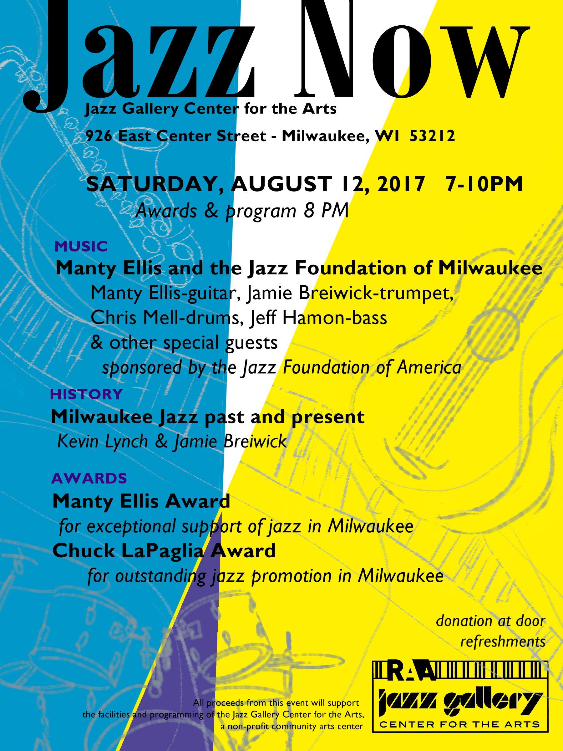 Jazz Now event poster II