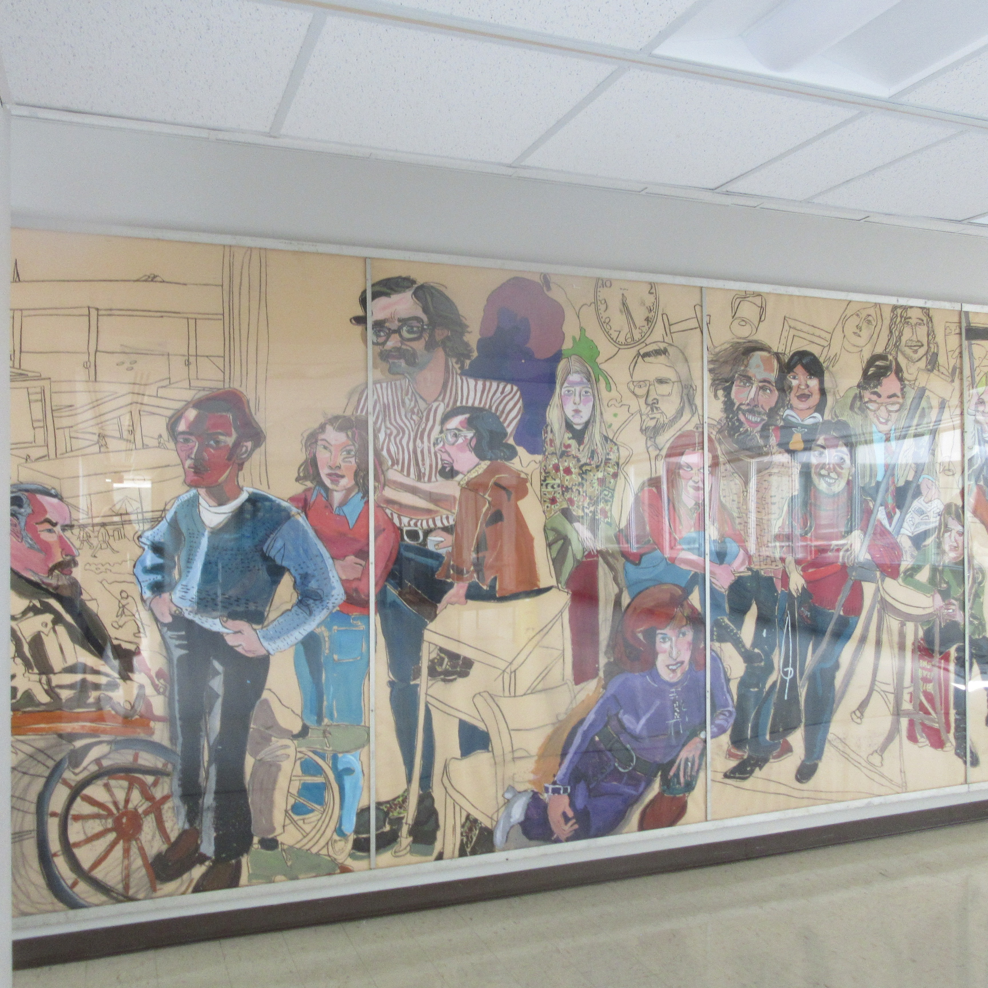 grooms mural